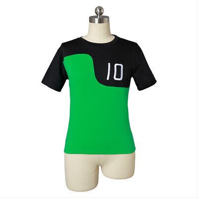 Ben 10 Alien Force Reboot Green T Shirt Tee Benjamin Kids Adult Cosplay Costume](Kids Alien Costume)