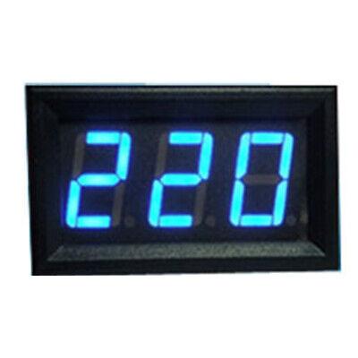 Ac 70-500v Digital Voltmeter Led Display Panel 2 Wire Volt Voltage Test Meter