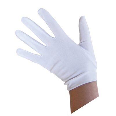 2 Pair WHITE GLOVES Halloween Jabbawockeez Dance Group Costume Princess  - 2 Pair Halloween Costumes