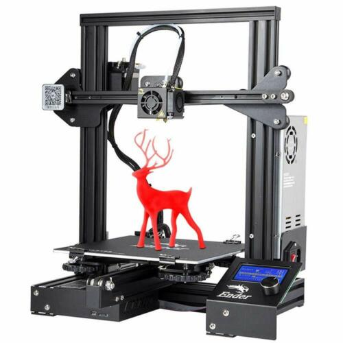 US Stock Creality Ender 3 3D Printer + UPS/Fedex + PLA Filament