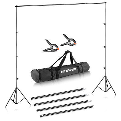 Neewer Photo Studio Adjustable Background Stand Backdrop Support System 10x12 ft Background Backdrop Support System