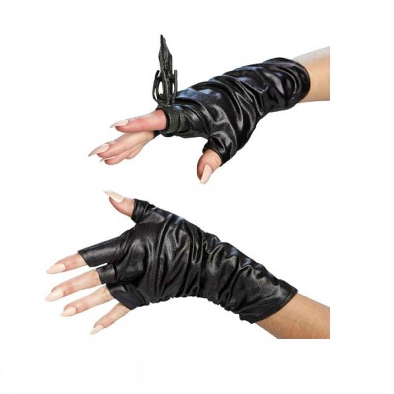 Maleficent Accessory Kit with Gloves and Ring Movie Costume Accessory Halloween
