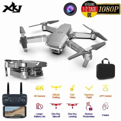 E68 WiFi Drohne FPV 1080P Kamera Geste Foto Selfie Faltbare RC Quadcopoter Drone