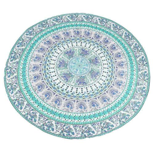 Large Round Throw Beach Towel Blanket Tapestry Yoga Mat Deco