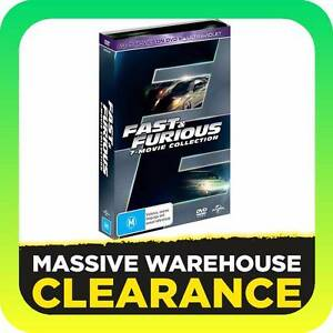 Fast & Furious - 7 Movie Collection (DVD) Tullamarine Hume Area Preview