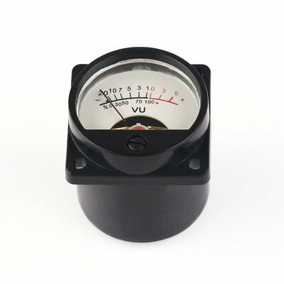 Dcac 6-12v 500a 630ohm Panel Vu Meter Test Audio Level Db Meter