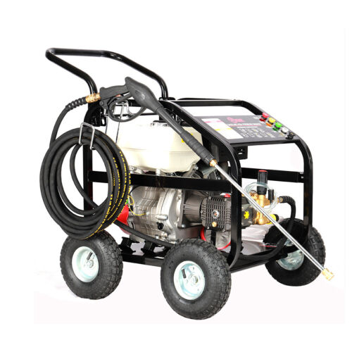 Wheeled Petrol High Pressure Washer 15HP 4 Stroke Jet Engine Washing Cleaner