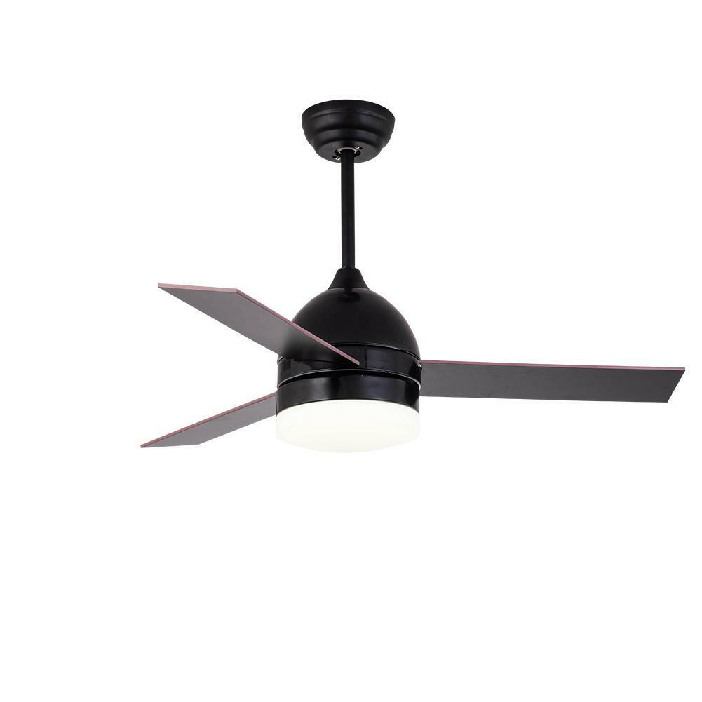 42 Matte Black Ceiling Fan Light