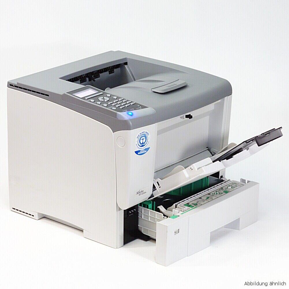 Imprimante ricoh aficio sp 4310n imprimante laser avec réseau utilisé e