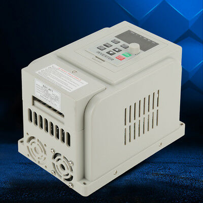 1.5kw Single Phase To 3three Phase Output Frequency Converter Vfd Ac 220v Usa