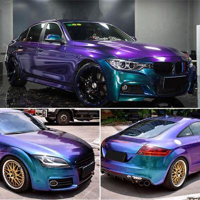 Blau Lila Chameleon Flip Flop Folie Wrapping Car Auto Blasenfrei Luftkanäle