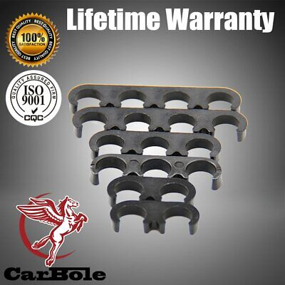 Set of 6 Plastic Spark Plug Wire Separators Dividers Looms 9877 For Chevy Ford