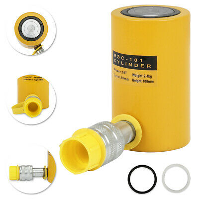 10 Tons 2 50mm Stroke Single Acting Hydraulic Cylinder Jack Ram Usa