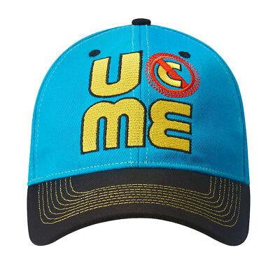 John Cena Mens Blue Throwback Costume Hat T-shirt Wristbands