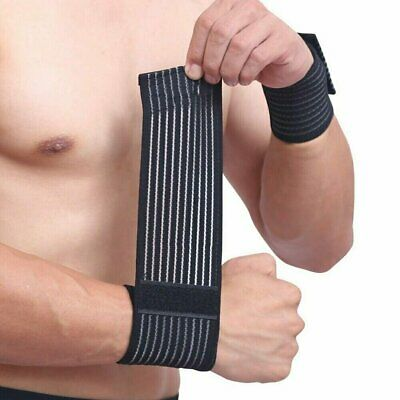 Sports Wrist Band Brace Wrap Adjustable Support Gym Strap Carpal Tunnel Bandage Health & Beauty
