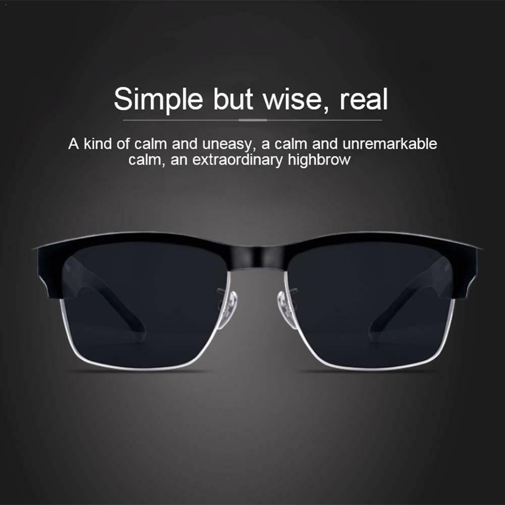Smart Bluetooth Sonnenbrille Wireless Headset Kopfhörer mit Mikrofon Brille