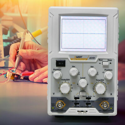 Owon As101 Handheld Table Virtual Digital Oscilloscope One Channel 100v - 240v