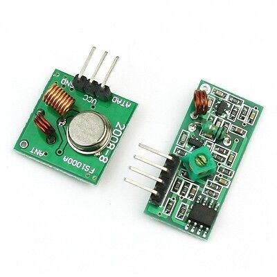 315mhz Rf Transmitter And Receiver Link Kit For Arduinoarmmcu New