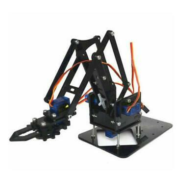 Robot Arm Diy Claw Servos Mechanical Grab Manipulator Assemble Accessories Kit