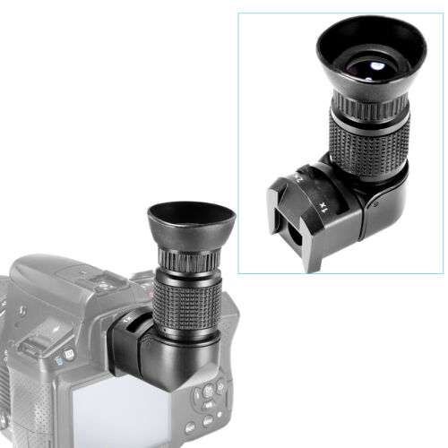 Neewer 1x-2x Right Angle Finder for Canon, Nikon, Pentax, Olympus