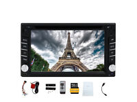 Double din Eincar 6.2 GPS Navigation-DVD Player-HD Digital Touch Screen-Autoradio-Blutooth-NEW