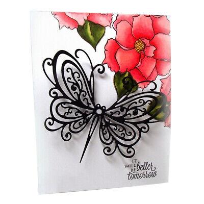 Butterfly Metal Cutting Dies Scrapbooking Embossing Paper Card Album Stencil HOT ()
