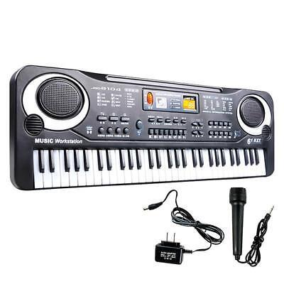 61 Keys Digital Music Electronic Keyboard Electric Piano Organ Instrument GA