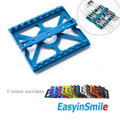 Easyinsmile Dental Sterilization Cassette Medical Instrument Tray 8 Tools Holder