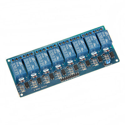 5V 8 Kanal Relais Modul Relay Interface Module Optokoppler für PIC AVR DSP ARM