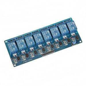 5V 8 Kanal Relais Modul Relay Interface Module Optokoppler für PIC AVR DSP ARM