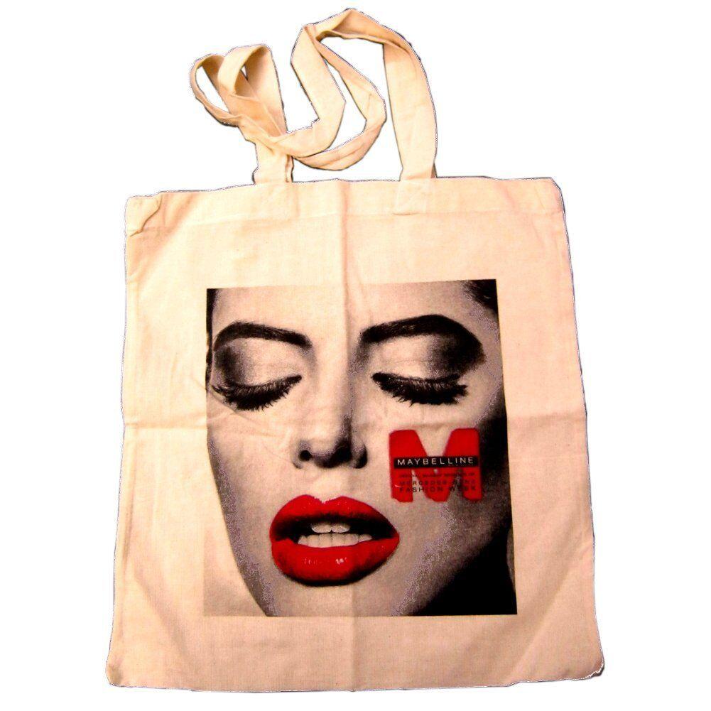 Maybelline Mercedes Benz Fashion Week Cotton Tote Beach Bag