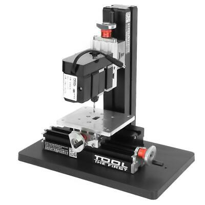 Z20004m 24w Mini Precise Metal Drilling Machine Drill Press Stand Us Plug New