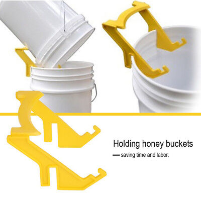 Us Bee Honey Bucket Holder Rack Frame Grip Beekeeping Tools Beekeepers Equipment