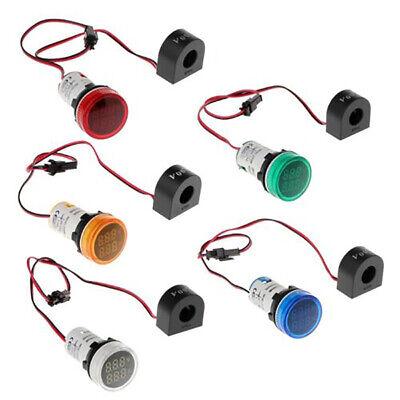 Q Ac 20-500v Led Digital Display Voltmeter Signal Light Voltage Meter Indicator