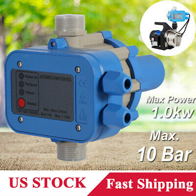 New Automatic Water Pump Pressure Controller Electronic Switch Control 110v Us
