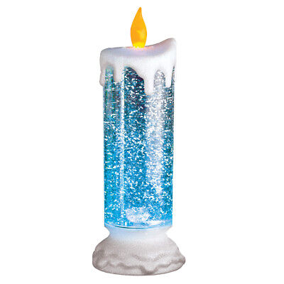 Color Changing Snow Globe Candle, by Collections Etc