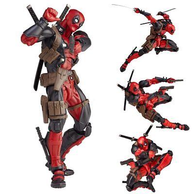 Marvel Legends X-men No.001 DEADPOOL Action Figure Revoltech Kaiyodo Version Toy