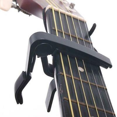 Guitar Capo Trigger Quick Change Key Clamp Ukulele Mandolin Acoustic Electric US