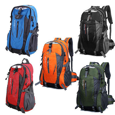 Outdoor Hiking Camping Waterproof  Nylon Travel Luggage Rucksack Backpack Bag
