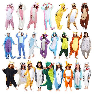 Tier Einhorn Overalls Erwachsene Kostüm Kigurumi Pyjama Schlafanzug -