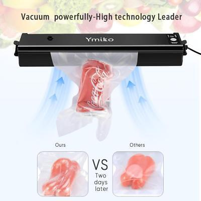 Household Food Vacuum Sealer Package Machine Automatic Film Sealer Vacuum Packer, used for sale  USA
