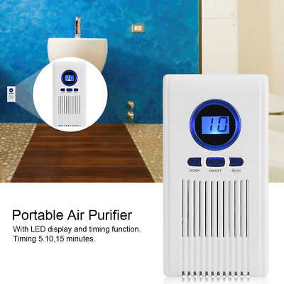 Mini Air Purifier Cleaner Ionic Negative Oxygen ion Ionizer Fresh Office Home