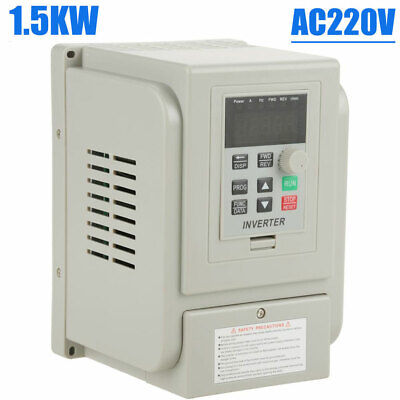 1.5kw 3hp Vfd 8a Ac 220v Single 3-phase Speed Variable Frequency Drive Inverter.