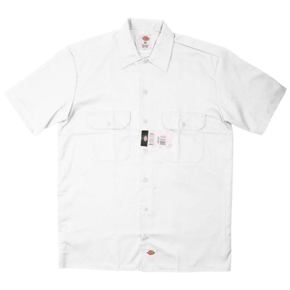 Dickies Men's Size S-2XL 3XL 4XL 5XL Short Sleeve Work Shirt Shop Mechanics 1574