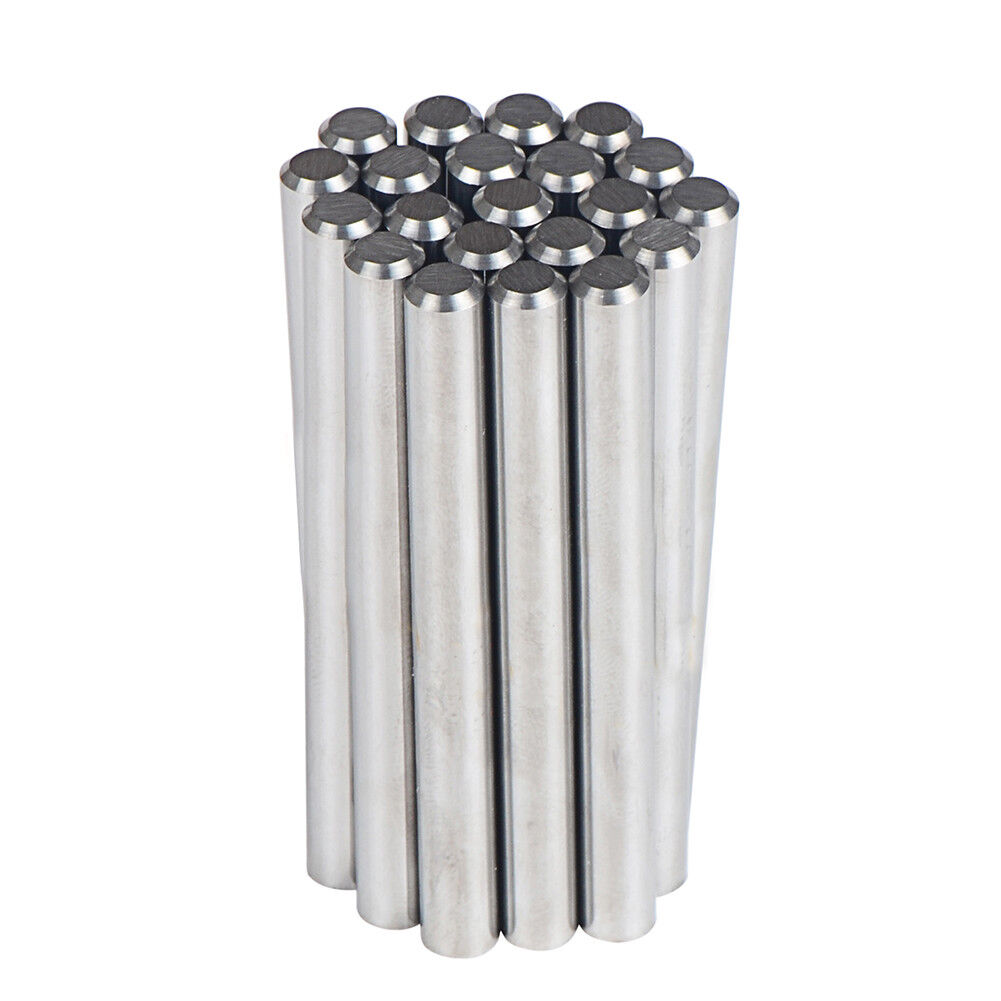 Polished 5Pcs Tungsten Carbide Rod Chamfer one End D3//8x3  Precision Ground