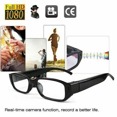 HD 1080P Glasses Spy Hidden Camera Security DVR Video Recorder Eyewear Cam ZC~