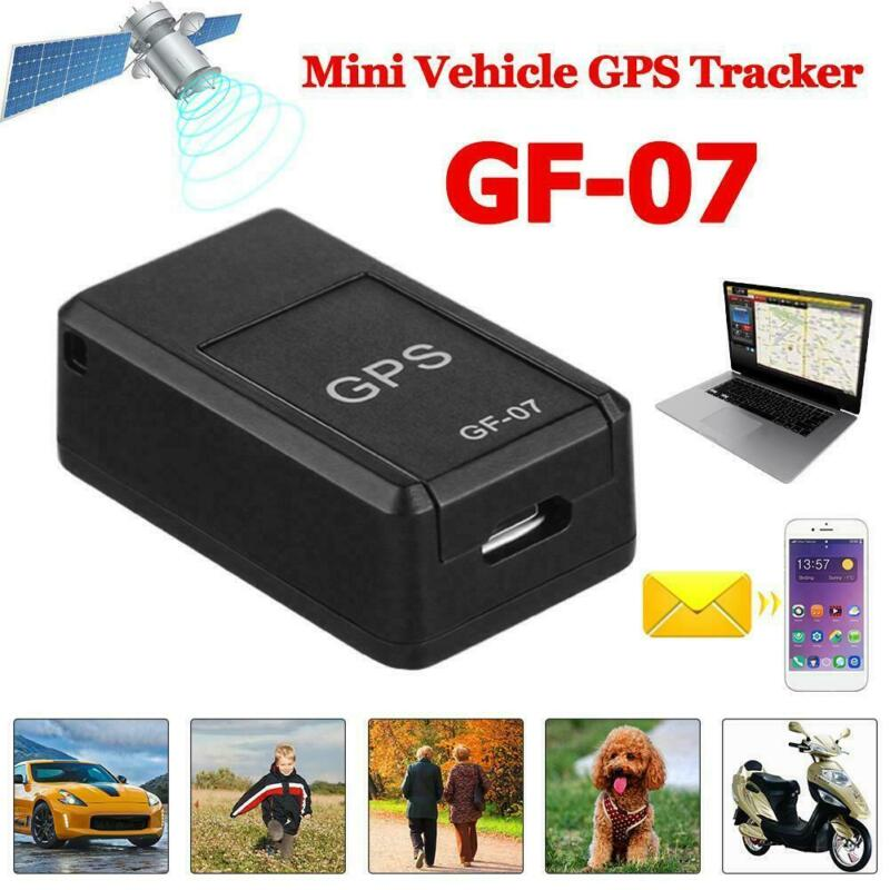 Mini Magnetic GPS Tracker GF07 Real-time Car Truck Vehicle Locator GSM GPRS USA