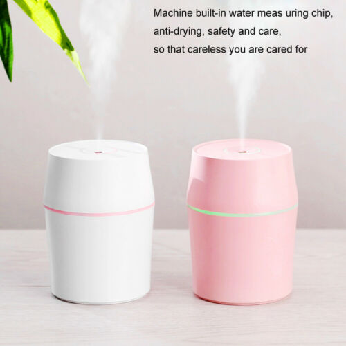 Car Steam Air Humidifier Aroma Diffuser Mini Air Purifier Essential Oil Diffuser Home & Garden