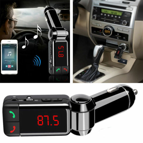 Hot Dual USB Car Kit Charger Wireless Bluetooth Stereo MP3 Player FM Transmitter
