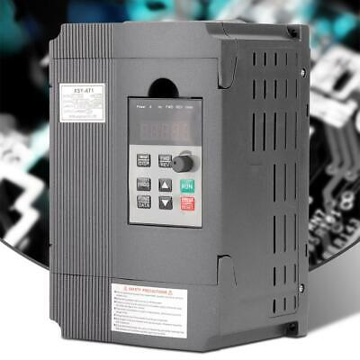 220v Single-phase Variable Frequency Drive Inverter Vfd Speed Controller 1.5kw